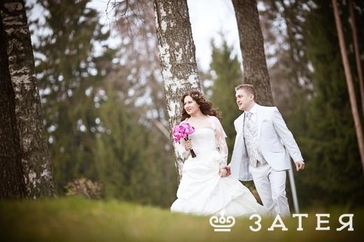 французские розы в букете невесты