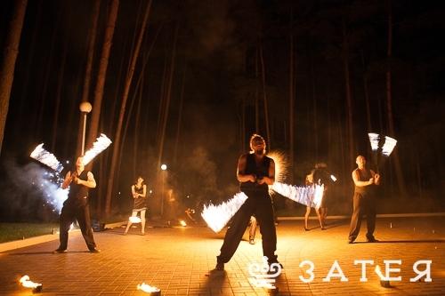 огненное шоу в Витебске