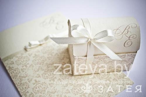 кремовая свадьба бонбоньерки