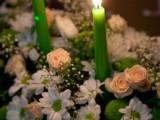 праздничное оформление живыми цветами