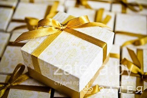 бонбоньерки в золоте