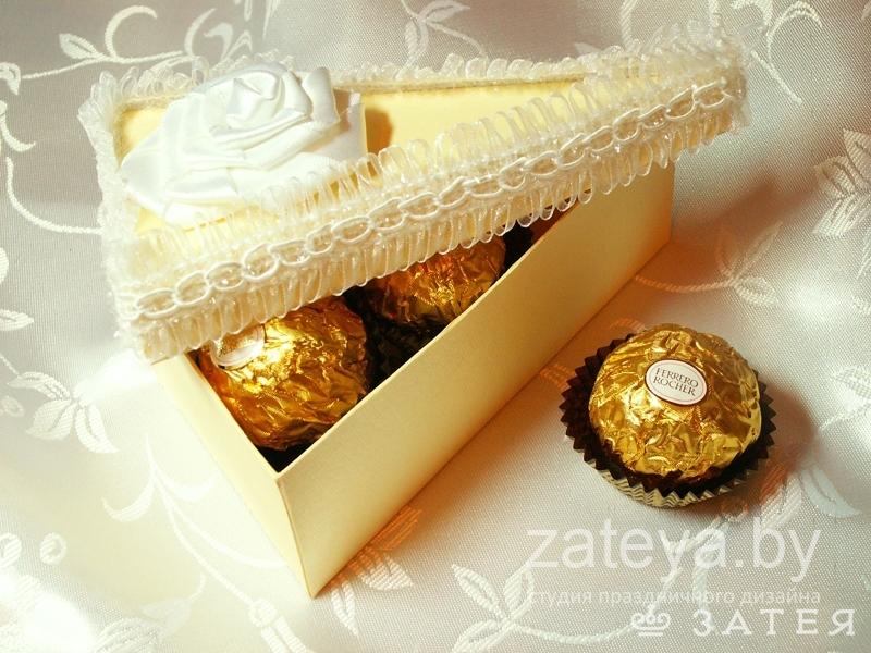 бонбоньерка-торт