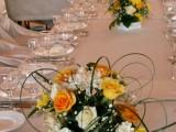 композиции из живых цветов на свадьбу
