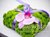 фиолетово-салатовая свадьба