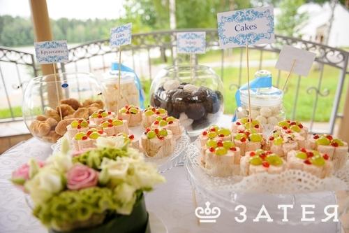 организация фуршета на свадьбе