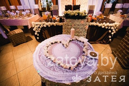 Стол для поздравлений на свадьбу