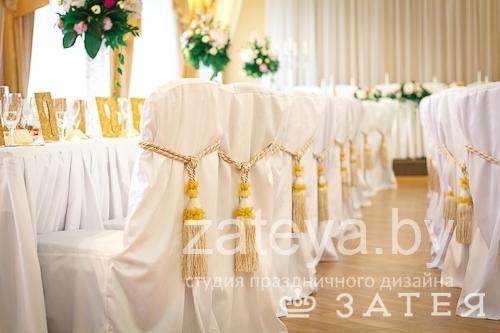 Золотые кисти на свадьбе в Витебске