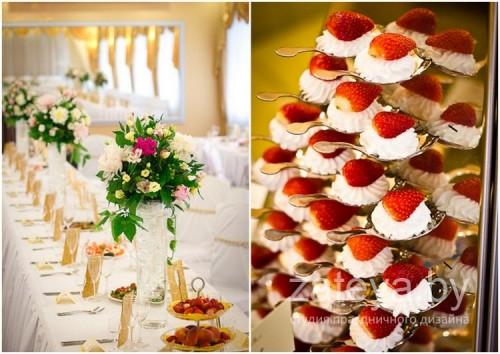 Угощения на свадьбе