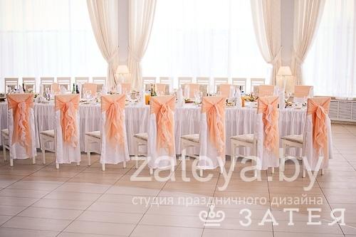 Воздушное оформление свадьбы