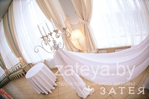 Канделябры на свадьбе в Витебске