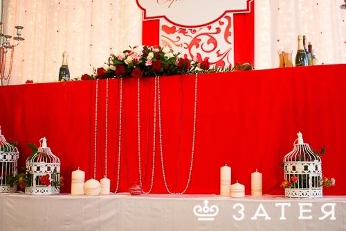 декор цветами и свечами в витебске