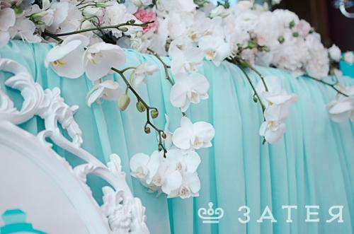 орхидеи на свадьбе