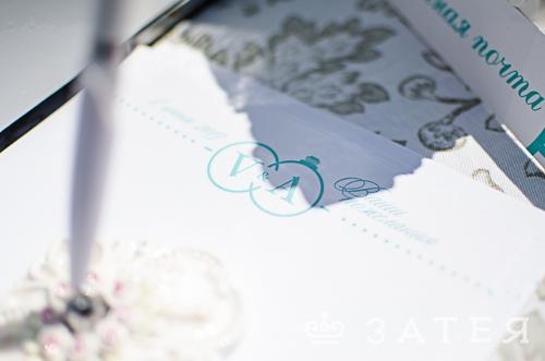 тематическая свадьба тиффани