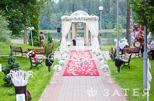 роскошная выездная регистрация брака