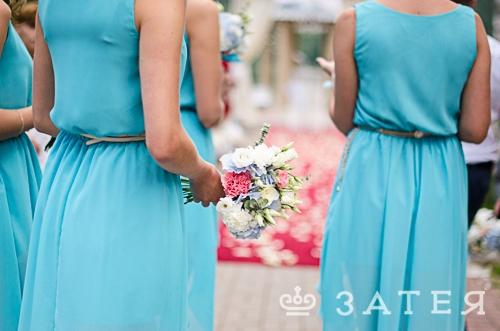 букетики для подружек невесты