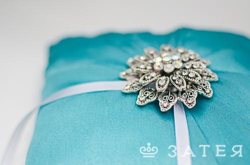подушечка для колец на свадьб