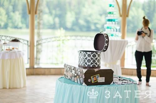 чемодан на свадьбе для подарков