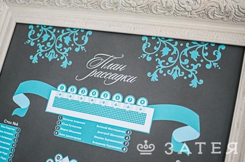 карта рассадки на свадьбе