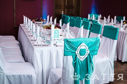 отдельные столы на свадьбе