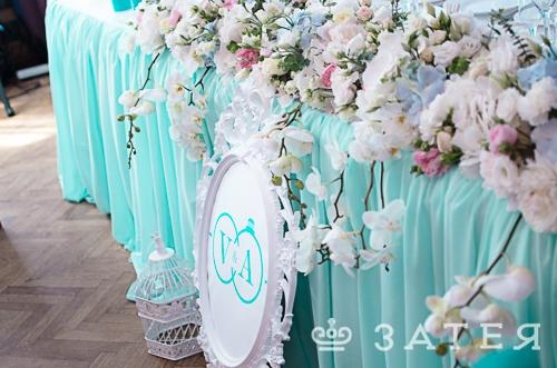 элитная флористика на свадьбе в витебске