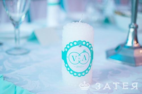 фирменные элементы на свадьбе