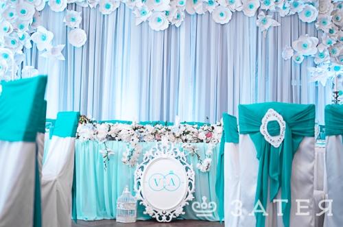 шикарное оформление свадьбы в витебске