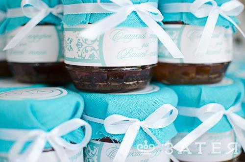 сладкий подарок для гостей на свадьбе