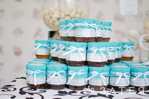 баночки с медом на свадьбе