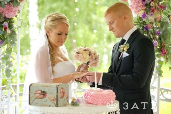 красивая свадьба затея