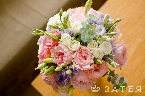 шикарный букет невесты