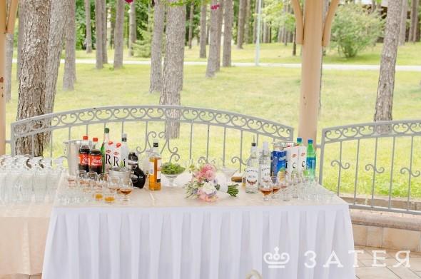 фуршет на свадьбе в Витебске