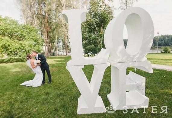 огромные буквы для фотосессии