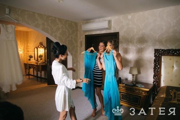 платья для подружек невесты заказать