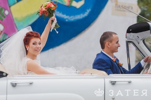 яркая свадьба в витебске