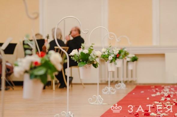 зона прохода на свадьбе