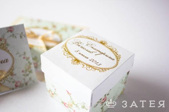 бонбоньерки на свадьбу заказать