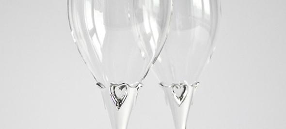 Свадебные бокалы купить