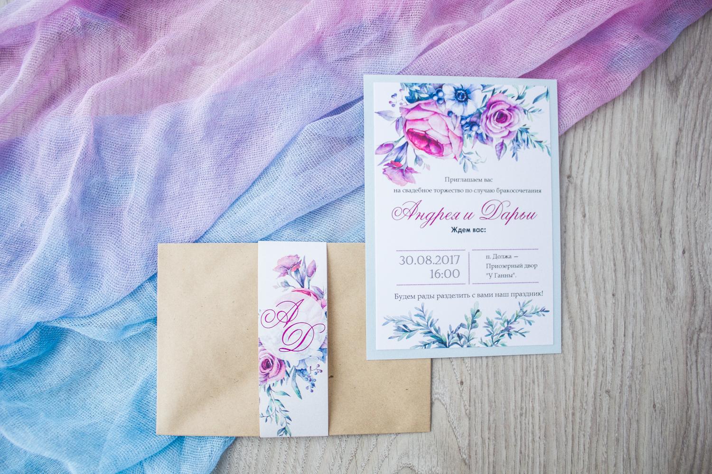 свадебные приглашения минск