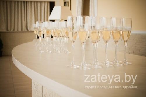 Фуршет на свадебном торжестве
