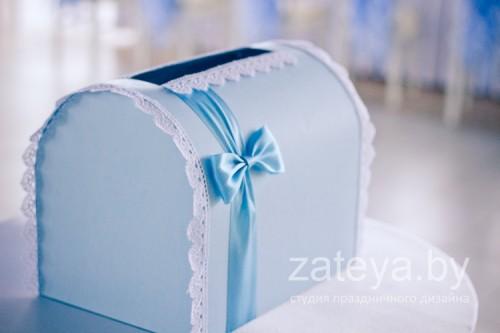 Сундучок для подарков на свадьбе