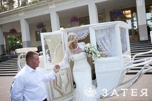 шикарная карета на свадьбу