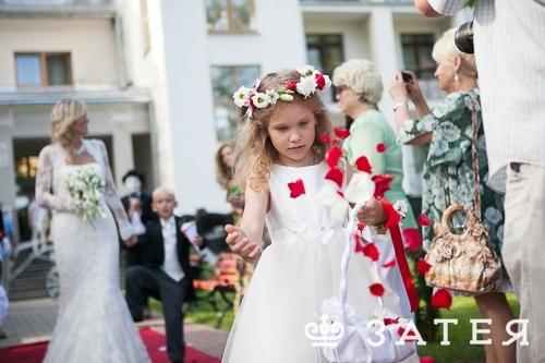 флористика на свадьбе в Витебске