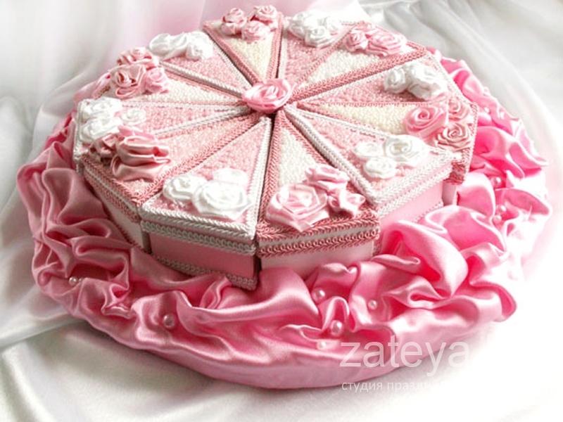 бонбоньерки в виде торта