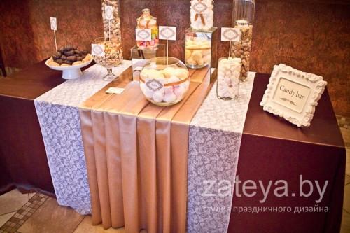 кэнди бар на итальянской свадьбе