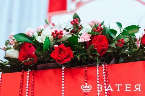 живые цветы на свадьбе в витебске