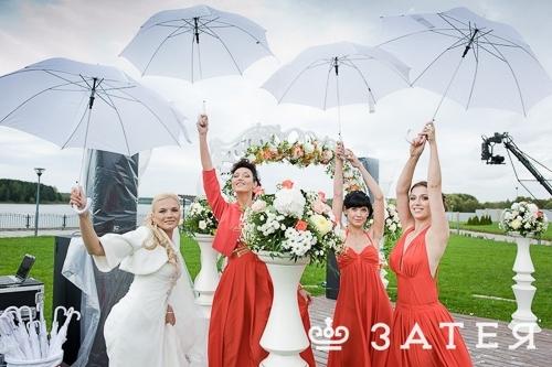 зонтики на свадьбе в витебске