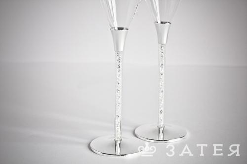 бокалы с кристаллами