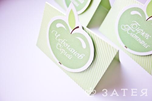 карточки рассадки на клубничную свадьбу