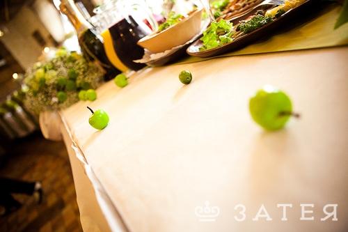 яблочный декор