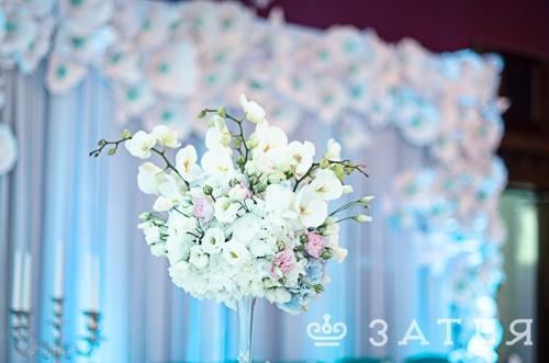 композиции на столы гостям на свадьбе